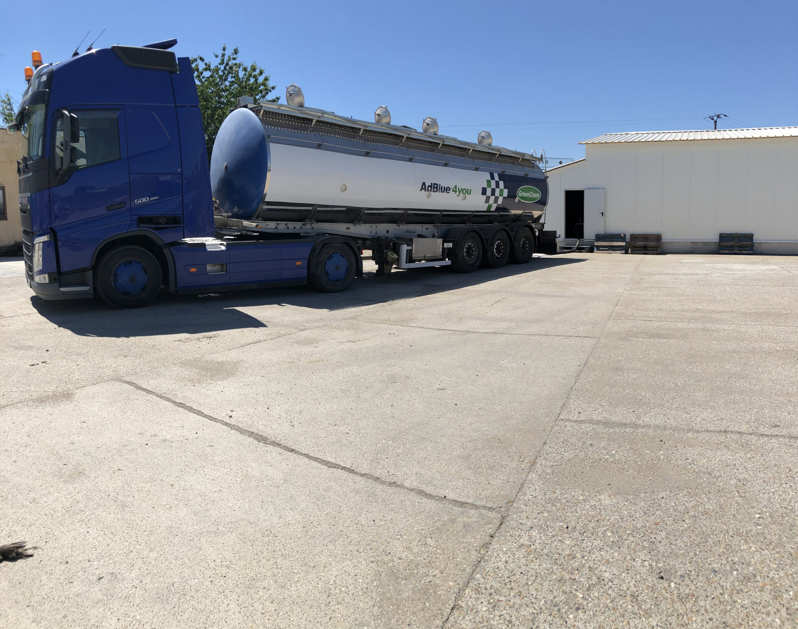 Fertilizers delivery